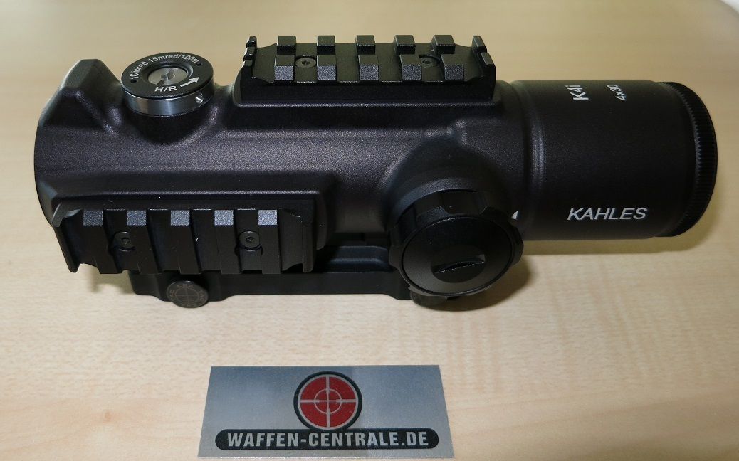 Kahles k4i absehen: circle dot waffen centrale