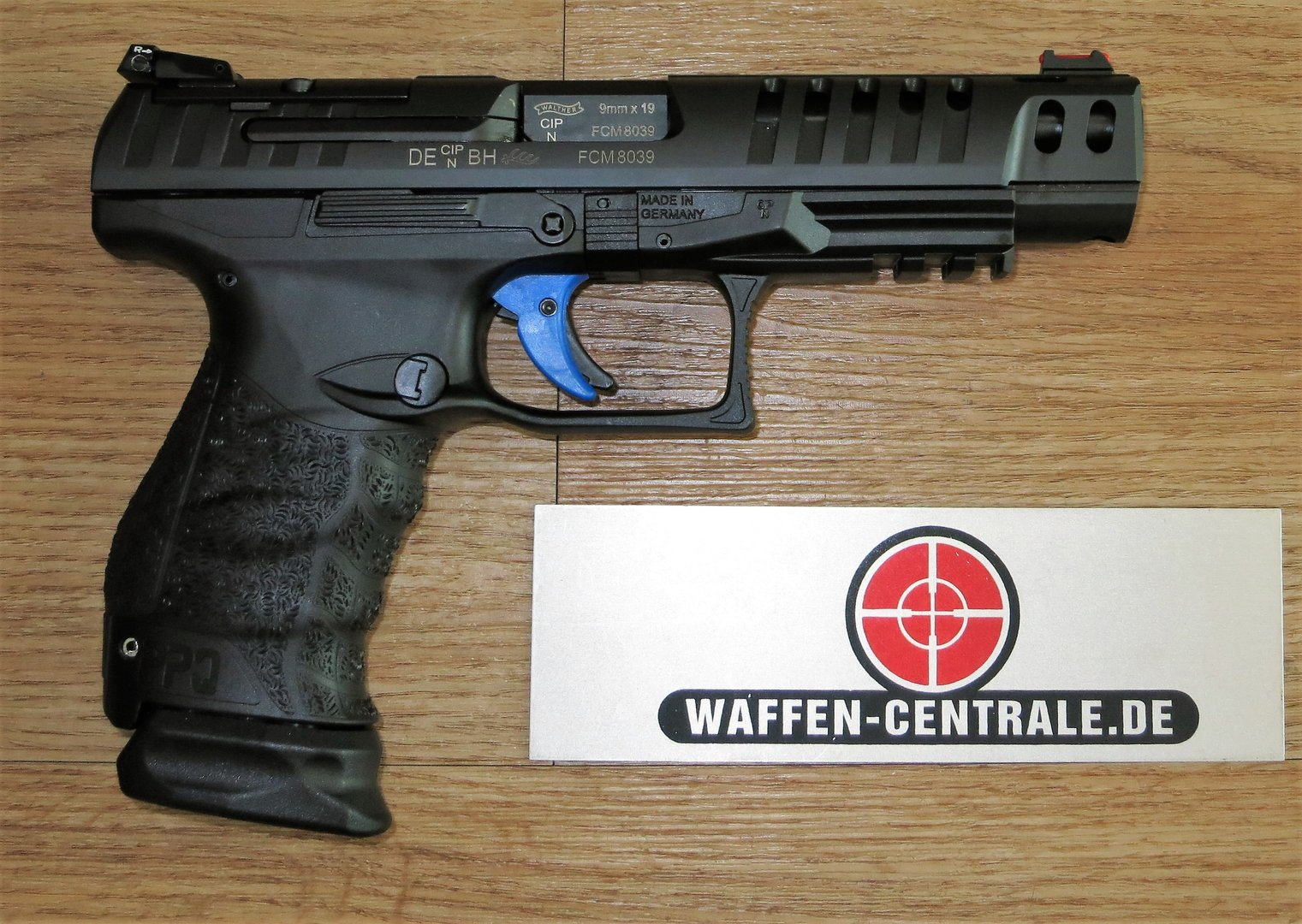 walther q5 match champion kal 9mm luger waffen centrale