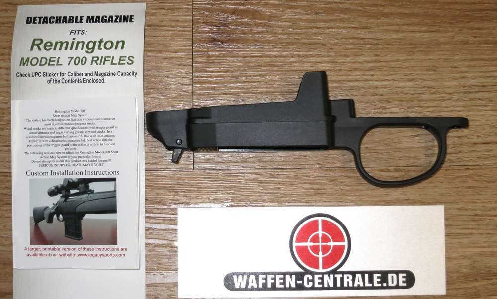 Remington 700 Conversion Kit auf Steckmagazin - Waffen Centrale